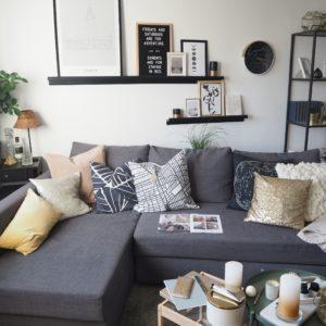 """Interior Styling für das Wohnzimmer """"Neutrale Farben"""""""